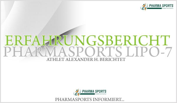 Erfahrungsbericht zu Pharmasports Lipo-7 - Athlet berichtet