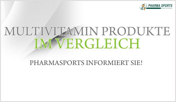 Multivitamin Produkte im Vergleich