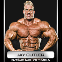 Jay Cutler, Muscletech Athlet und mehrfacher Mr. Olympia!