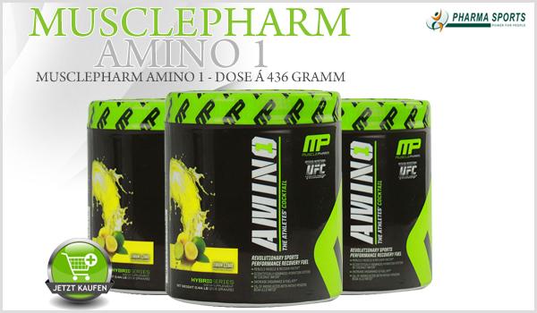 MusclePharm Amino 1 zur Aminosäure-Versorgung bei Pharmasports