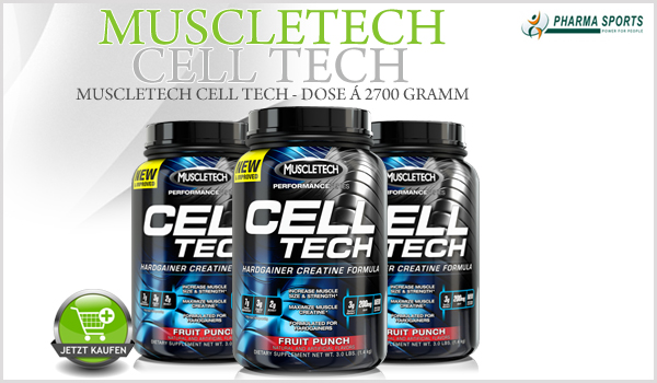 MuscleTech Cell-Tech ab sofort bei Pharmasports!