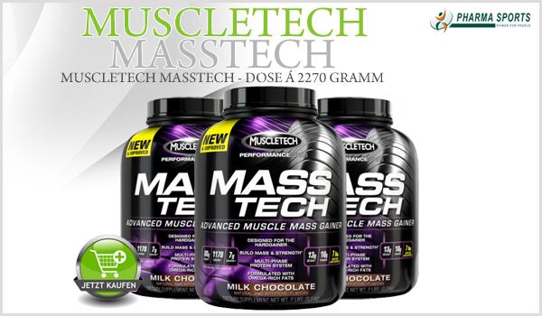 Nährstoffpaket MuscleTech MassTech ab sofort bei Pharmasports!