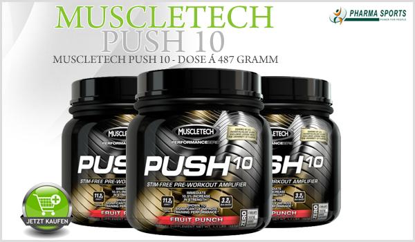 MuscleTech Push 10 ab jetzt direkt bei Pharmasports bestellen