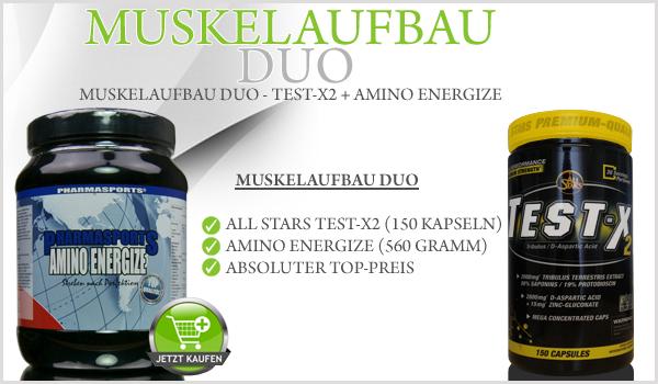 Neues Muskelaufbau Duo bei Pharmasports!