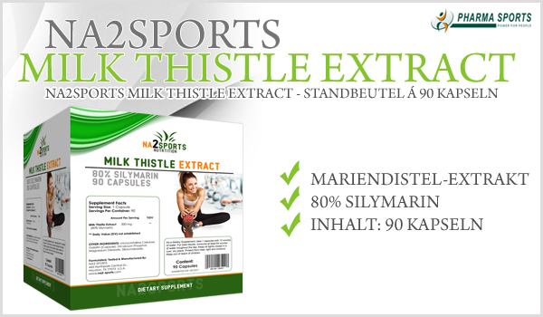 Na2Sports Milk Thistle Extract bei Pharmasports