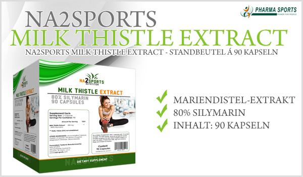 NEU bei Pharmasports - Na2Sports Milk Thistle Extract!
