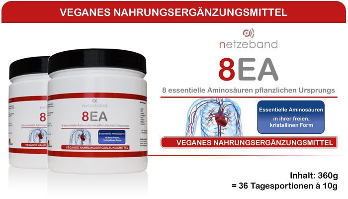 Netzeband 8EA - alle 8 essentiellen Aminosäuren