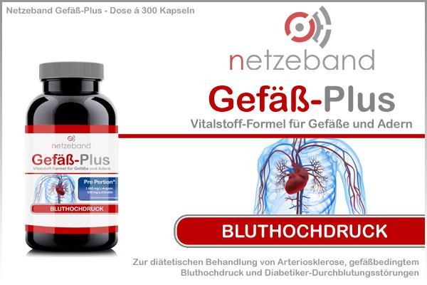 Netzeband Gefäß-Plus - Dose á 300 Kapseln