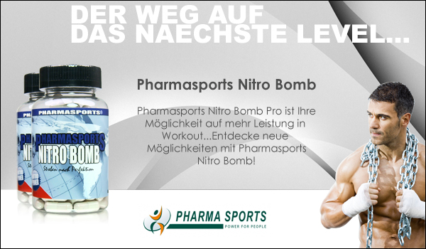 Pharmasports Nitro Bomb - ein Klassiker zum Muskelaufbau