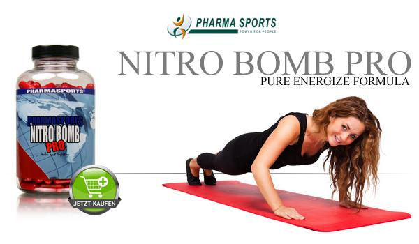 Pharmasports Nitro Bomb Pro für mehr Leistung