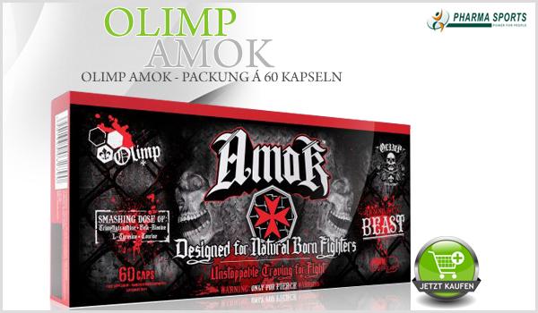 Neu bei Pharmasports - Olimp Amok!