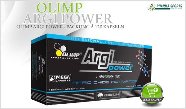 Ab jetzt bei Pharmasports – Olimp Argi Power 1500