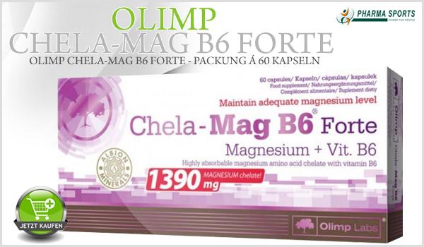 Olimp Chela Mag B6 Forte bei Pharmasports