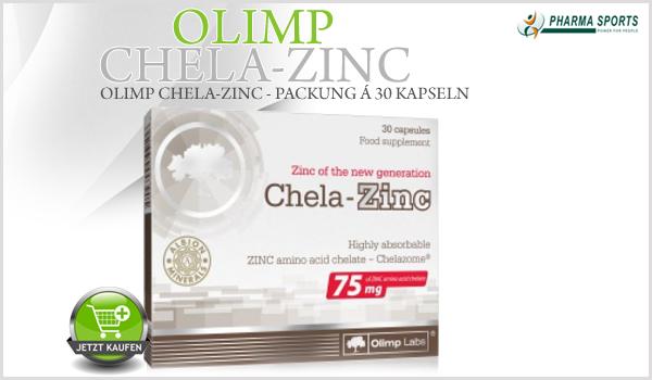 Olimp Chela-Zinc - Zinkchelat-Form bei Pharmasports