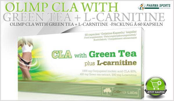 Olimp CLA with Green Tea plus L-Carnitine neu im Sortiment
