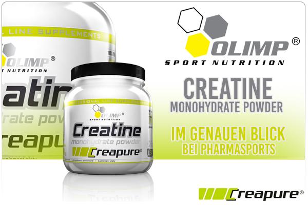 Olimp Creatine Monohydrate Powder Creapure - ein genauer Blick