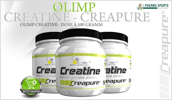 Olimp Creatine Creapure® bei Pharmasports