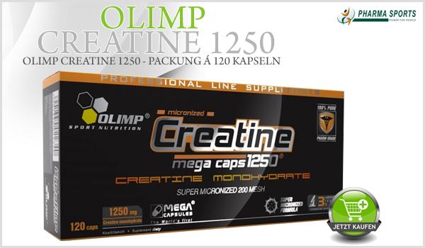 Olimp Creatine 1250 - hochwertiges Creatin Monohydrat