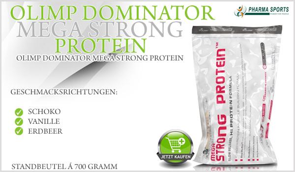 Neu bei Pharmasports: Olimp Dominator Mega Strong Protein
