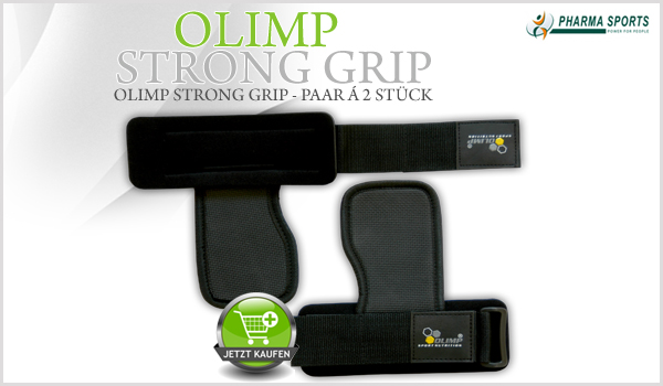 Neues Zubehör bei Pharmasports: Olimp Strong Grip!