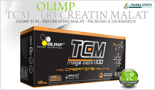 Olimp TCM (Tri-Creatin Malat) bei Pharmasports