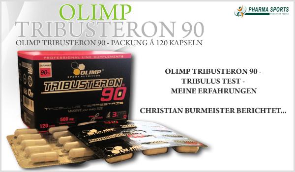 Olimp Tribusteron 90 - Athleten Erfahrung