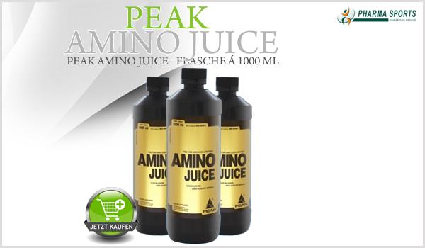 Neue Aminosäure bei Pharmasports: Peak Amino Juice