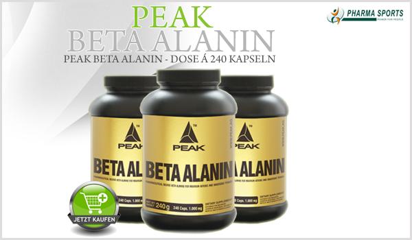 Neu bei Pharmasports: Peak Ecdysone & Peak Beta Alanin