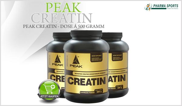 Pharmasports bietet ab sofort auch Peak Creatin an!
