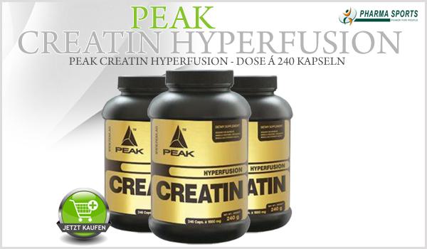 Peak Creatin Hyperfusion ab sofort bei Pharmasports in der Creatin-Auswahl!