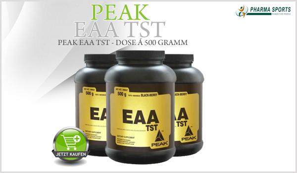 Peak EAA TST das nächste neue Supplement bei Pharmasports!