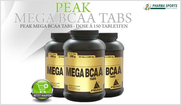 Peak Mega BCAA Tabs güsntig bei Pharmasports