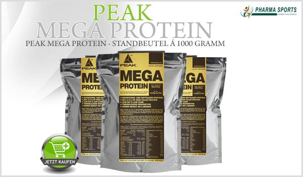Peak Mega Protein neu im Shop!