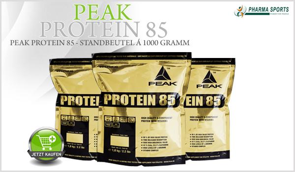 Peak Protein 85 neu im Pharmasports-Sortiment!
