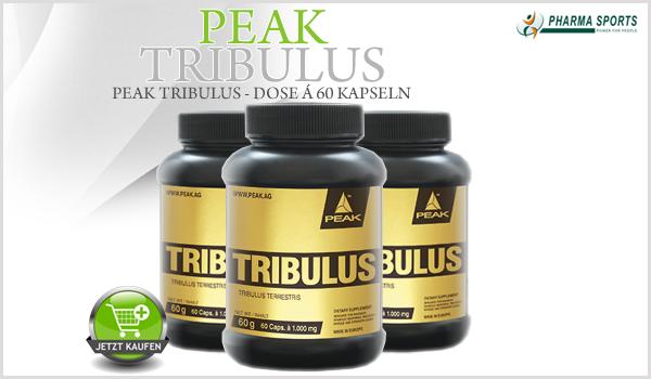 Peak Tribulus Kapseln bei Pharmasports erhältlich