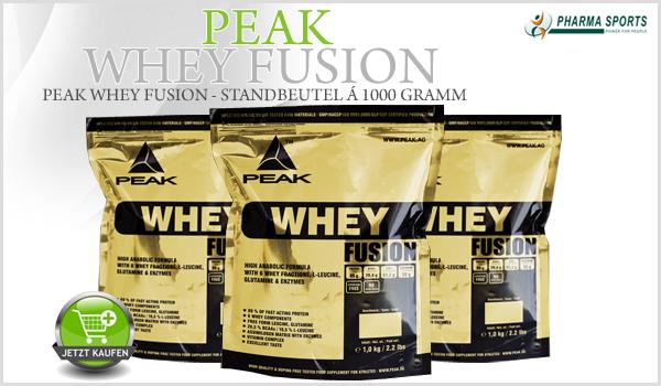 Peak Whey Fusion ab sofort bei Pharmasports