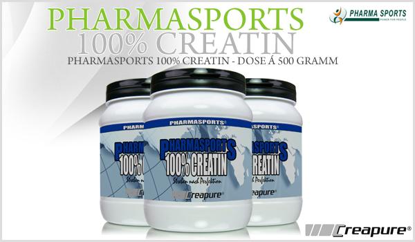 Pharmasports 100% Creatin - Dose á 500 Gramm