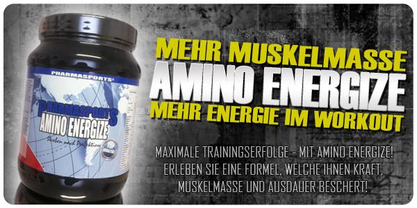 Pharmasports Amino Energize erhältlich!