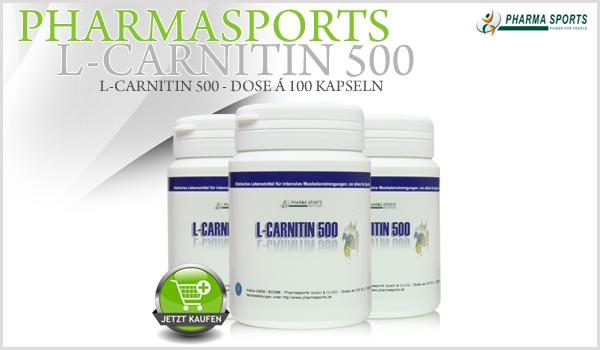 Pharmasports L-Carnitin 500