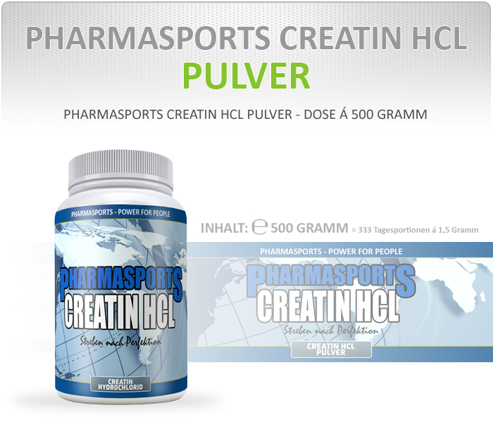 Pharmasports  Creatin HCL Pulver