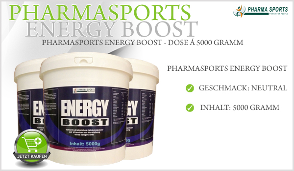 Pharmasports Energy Boost Enzymatisch hydrolisierte Maisstärke 5 Kg