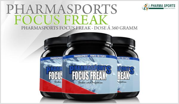 Schon bald bei Pharmasports erhältlich – Pharmasports Focus Freak!