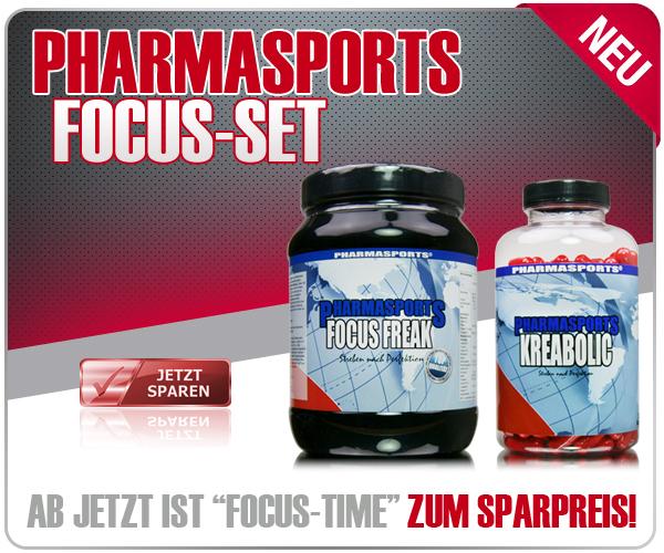 Pharmasports Focus-Set - Bestehend aus Pharmasports Focus Freak und Kreabolic