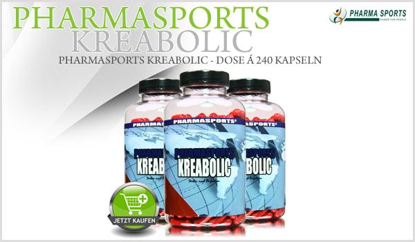 Pharmasports Kreabolic - Dose á 240 Kapseln