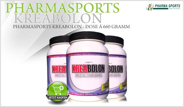 Pharmasports Kreabolon - Dose á 660 Gramm