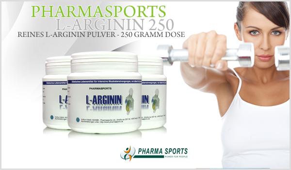Pharmasports L-Arginin 250