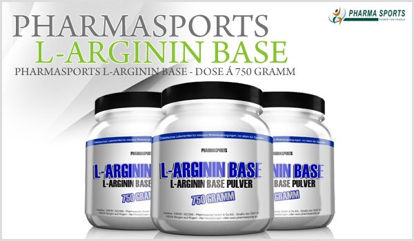 Pharmasports L-Arginin Base - Dose á 750 Gramm