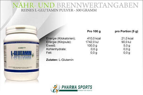 Pharmasports L-Glutamin natürlich günstig bei Pharmasports