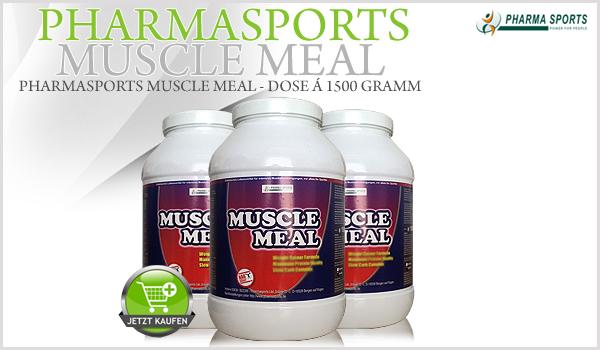 Pharmasports Muscle Meal - Dose á 1500 Gramm