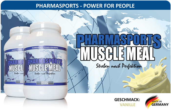 Pharmasports Muscle Meal - Standdose á 1500 Gramm